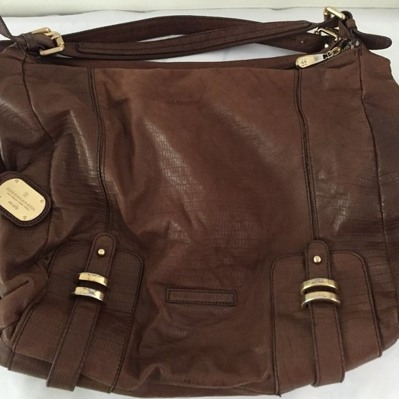 BCBG Maxazria leather shoulder bag
